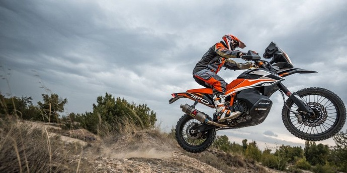 KTM 790 Adventure prototyp